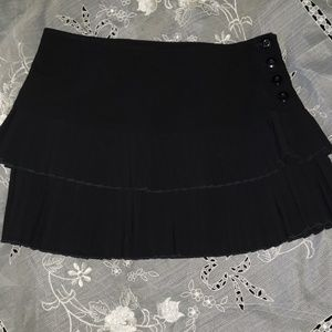 Cute Black sexy mini skirt